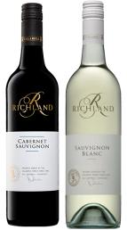 15 richland - sauvignon_blanc PLUS Cabernet_Sauvignon WESTEND ESTATE